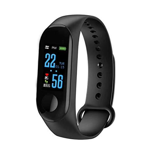 Jumowa Waterdichte gezondheidstracker, fitnesstracker Kleurenscherm Sport Smart Watch, Activity Tracker met hartslag…