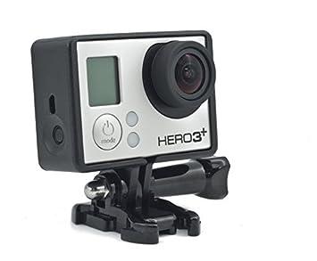 QUMOX Carcasa Protectora Montura Marco Bordes estándar Para Cámara Gopro HD Hero 4 3 3+