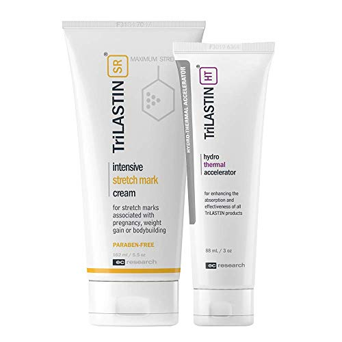 - TriLASTIN-SR Maximum Strength Stretch Mark Cream with Hydro-Thermal Accelerator