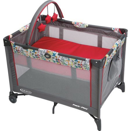 Graco Pack 'N Play On the Go Travel Playard, Typo Review