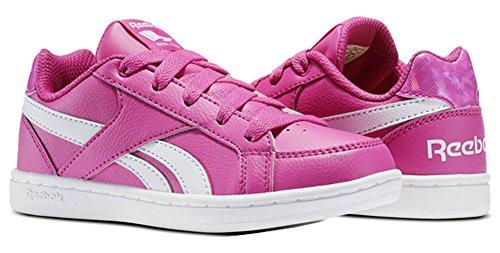 Reebok Bs7334, Zapatillas de Deporte para Niñas Rosa (Charged Pink / White)
