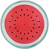 Inflatable Round Beach Ball Summer Pool Toy - Watermelon Red