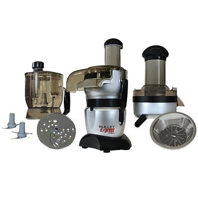 Bullet Express Meal Maker Trio Standard Mixer Food Processor and Juicer in one Amazing Machine