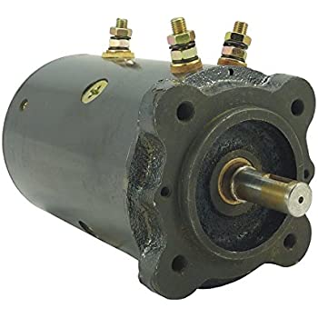 amazoncom   volt winch motor fits grand manufacturing utility body company applications