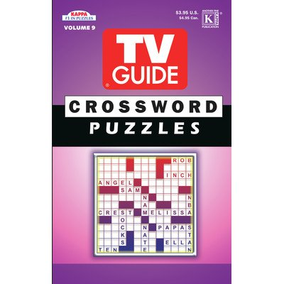 (TV Guide Crossword Puzzle Book)