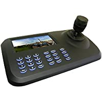 HDView IP PTZ Camera Controller Network Keyboard ONVIF 3D Jostick 5 Colorful LED Display Plug and Play USB and HDMI Output