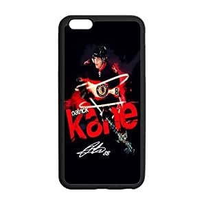 Custom KANE CHICAGO BLACKHAWKS Phone Case Laser Technology for iPhone 6 Plus Designed by HnW Accessories