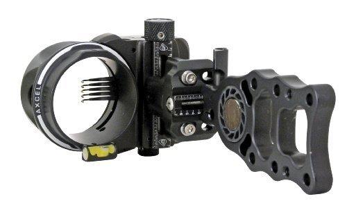 Axcel 5 Pin .019 Fiber ARMORTECH HD Hunting Sight (schwarz) by Axcel Sights