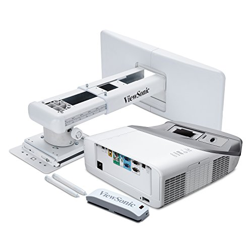 ViewSonic PS750W 3300 Lumens WXGA HDMI Interactive Ultra Short Throw Projector