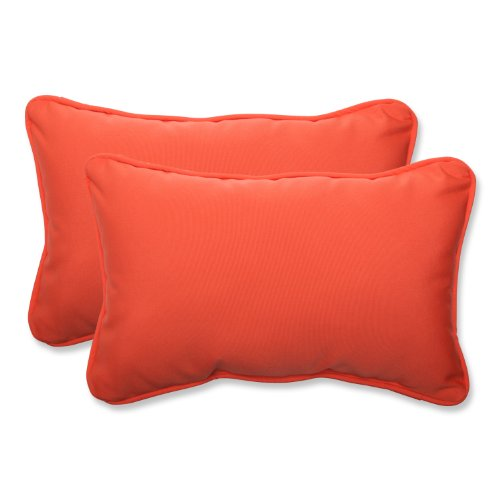 Pillow Perfect Rectangular Sunbrella Fabric