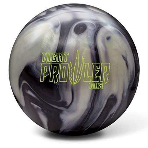 DV8 Night Prowler Bowling Ball- Onyx/Sterling Silver 15lbs ()