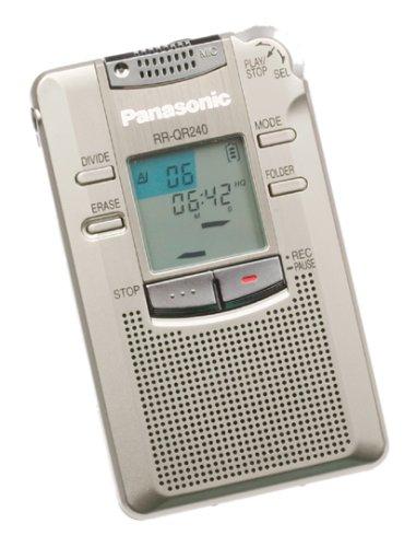 amazon com panasonic rr qr240 tapeless digital audio recorder rh amazon com