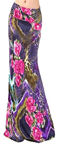 Imprim Robe U Femme 17 Casual shot Jersey haute Style longue Taille Jupe Bodycon qxUE4xwvBr