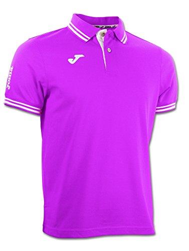 JOMA BALI S/S POLO SHIRT Uniforms MANN RASPBERRY