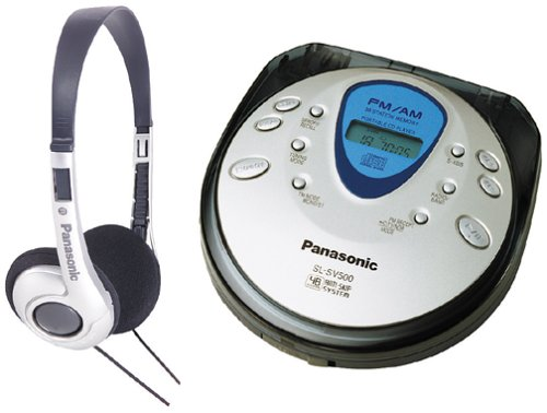 Panasonic SL-SV500 Portable CD Player with FM/AM Tuner ()