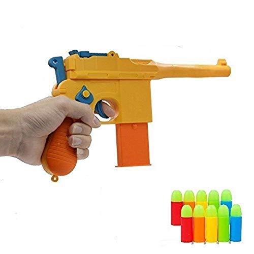 ZHENDUO Mauser Pistol Toy Gun with 10 Rubber Soft Bullets
