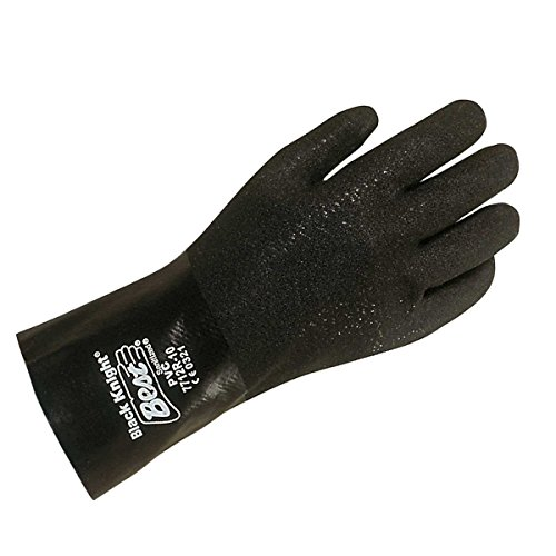 Showa Best 7712R Black Knight Pvc Gloves Large 12