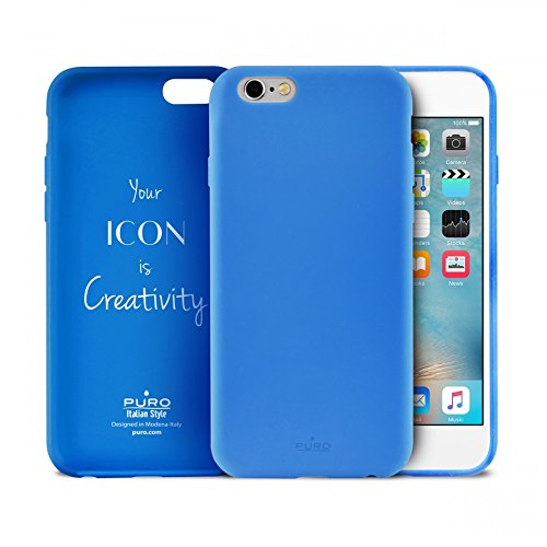 5 opinioni per Puro IPC647ICONLBLUE ICON iPhone 6/6S Light BLUE