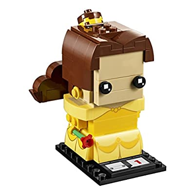 LEGO BrickHeadz Belle 41595 Building Kit: Toys & Games