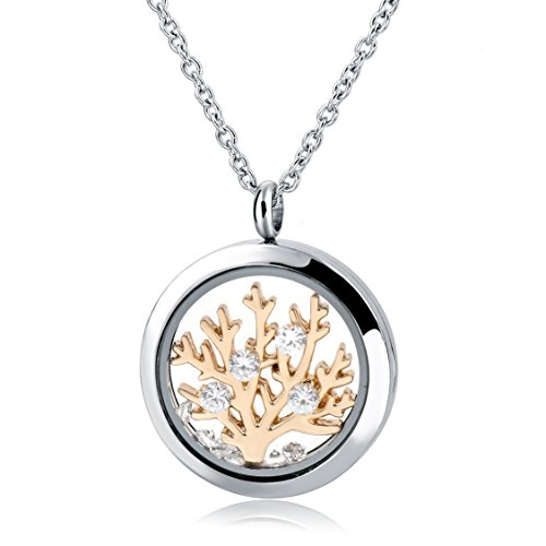 stainless steel charm necklace - 2