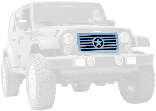 T-Rex 20881 Custom Series 4WD/Pre-Runner Polished Billet Stainless Steel Grille Insert,15 Bars