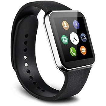 Mercantil Express Reloj Inteligente Deportivo con Camara para l Phone y Android Digital De Mujer Y