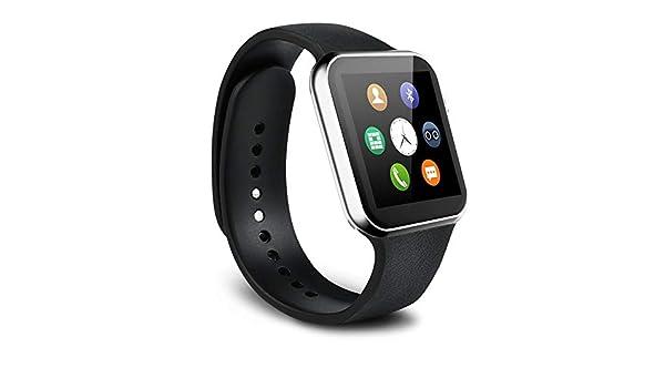 Amazon.com: Mercantil Express Reloj Inteligente Deportivo con Camara para l Phone y Android Digital De Mujer Y Hombre Unisex Accesorios para Celulares ...
