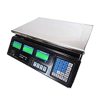mediawave - Balanza electrónica profesional (digital, nueva, 30 kg): Amazon.es: Electrónica