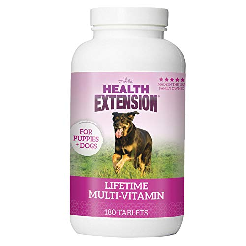 Health Extension Immune Boosting Lifetime Vitamins For Puppies And Adult Dogs