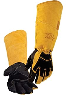 L BS50-L Size REVCO BSX Stick//MIG Welding Gloves By Revco Model .