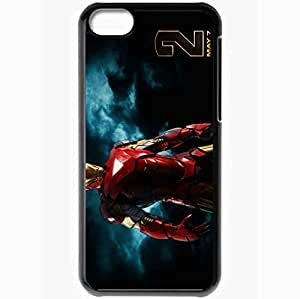 Personalized iPhone 5C Cell phone Case/Cover Skin 2010 iron man 2 movies Black