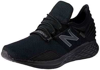New Balance ROAV Roav Fresh Foam Running Shoes for Kid's, Black, 1 US (Wide)