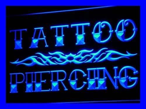 ADV PRO i559-b Tattoo Piercing Miami Ink Shop Neon Light Sign (Ink Miami Tattoos)