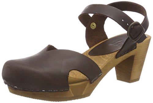 Sanita Womens Matrix Fashion Sandals Brown - Brown