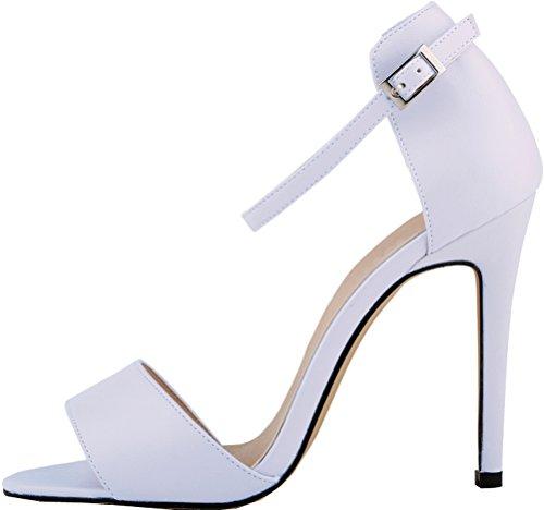 Toe Salabobo Toe Peep Salabobo Blanc Blanc Blanc femme Peep Peep femme femme Toe Toe Salabobo Peep Salabobo 6f8A1wq