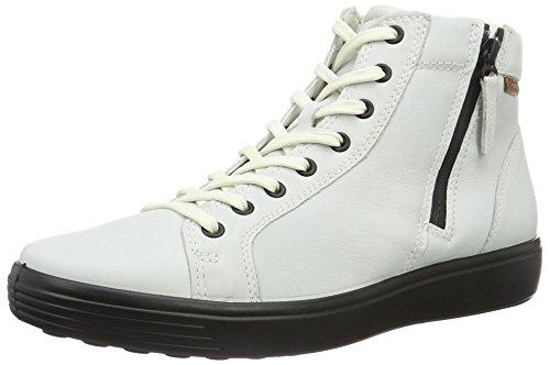 ECCO Soft 7 Men's, Zapatillas Altas para Hombre Blanco (50104white/lion)