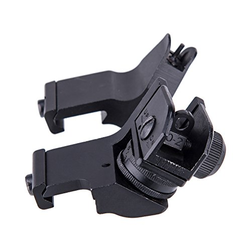 Pinty 45 Degree Offset Iron Sight w/Elevation & Windage Adjustments by Pinty