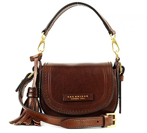 The Bridge Pearldistrict Borsa de mano pelle 16 cm Marrone