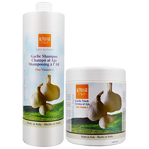 Ever Ego Garlic Shampoo + Mask 1000ml / 33.8oz