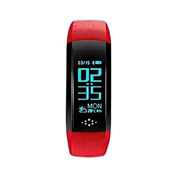 Pedómetro Smartwatch Bluetooth Reloj Inteligente Smart Watch,Control Cámara/ Podómetro/ Monitor de Sueño