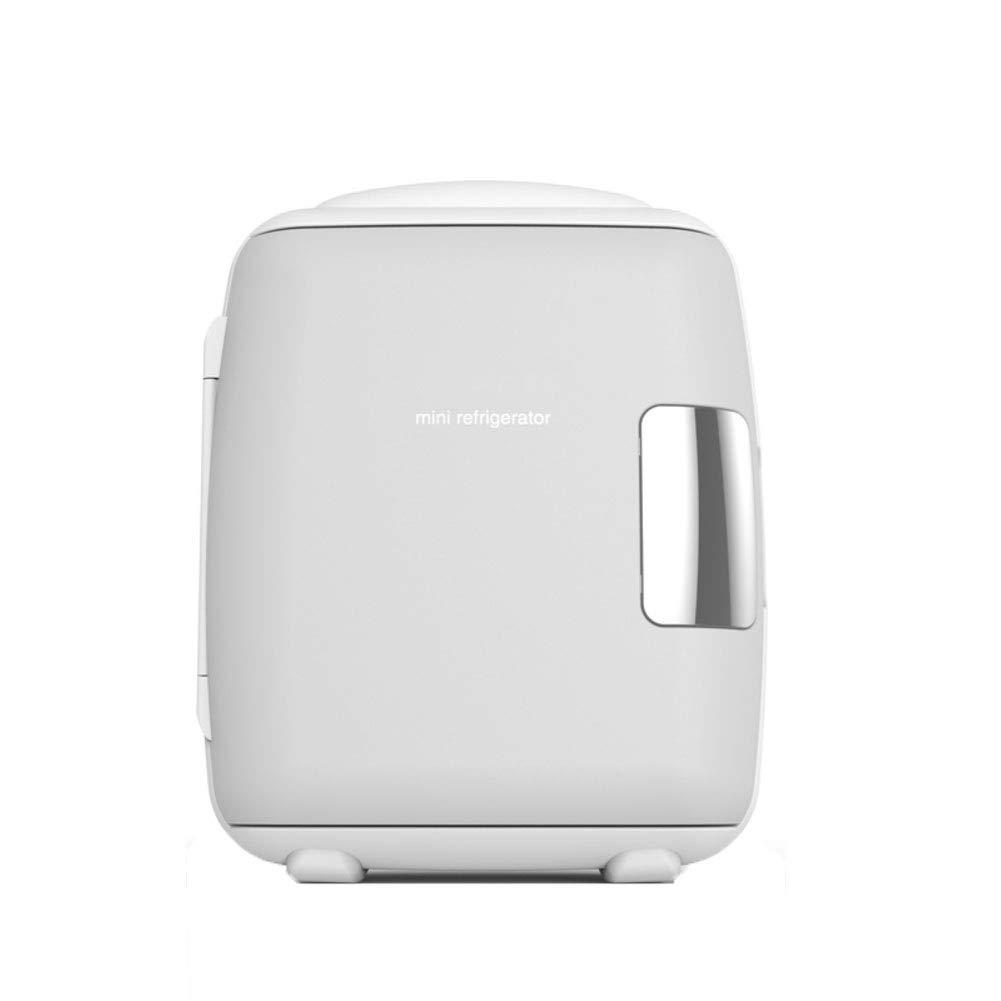 HM& DX électrique Mini Réfrigérateur Glacière Plus Chaud Thermoélectrique Silencieux Efficacité énergétique Portable Mini Frigo Voiture Chambre Bureau-Rose 4L Redsun