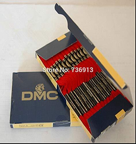- Maslin 100% Pure Cotton Total 100 Pieces Original French DMC Thread Embroidery Cross Stitch Floss Yarn Thread