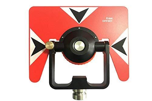 GEOLENI All-Metal Single Tilt Prism Z-14U With Case for Land Surveying Prism for Leica Total Stations