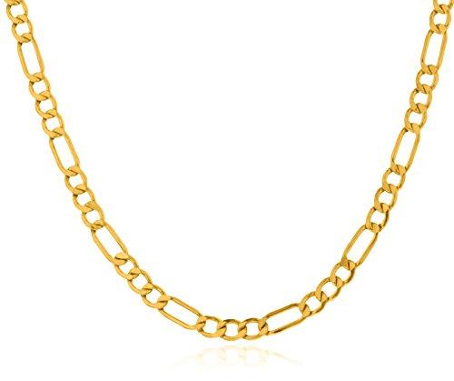 10k Yellow Gold 4.5mm Figaro Chain (5U-OY4L-HYEM) (20)