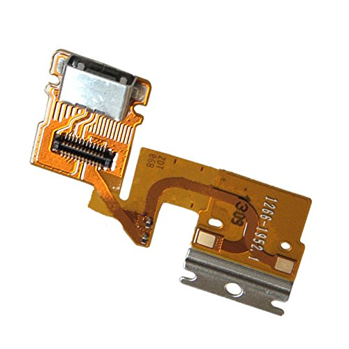 NIUTOP® Charging Port USB Charger Dock Connector Flex Cable For Sony Xperia Tablet Z - Sony Xperia Tablet Z Battery