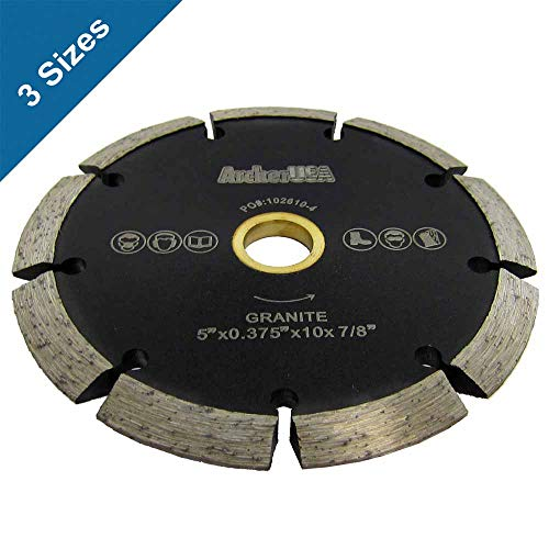 Crack Chaser - Crack Chaser Diamond Blades for Concrete Repair (3 Sizes) (4-1/2 in. x 3/8 in. x 7/8-5/8 in. Arbor)