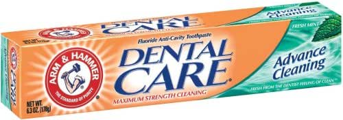 Toothpaste: Arm & Hammer Dental Care