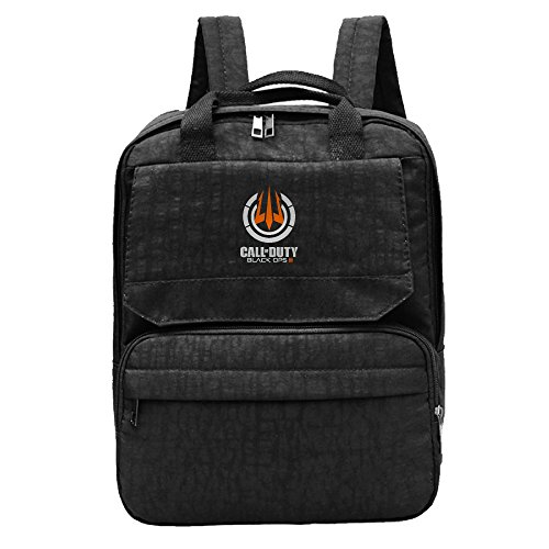 Call Of Duty Black OPS 3 Cristine Bag Men & Women Leisure Backpack Travel School Bag For Hiking Camping Daypack Black