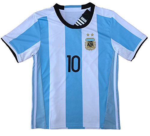 the latest dcf67 a43bb Messi Jersey 2018 World Cup Qualifiers Argentina Soccer ...