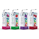 Hint Kids Water Variety Pack, (Pack of 32) 6.75 Ounce Boxes, 8 Boxes Each of: Cherry, Watermelon, Apple, and Blackberry, Unsweet Water with Zero Diet Sweeteners